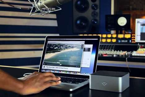 Laptop Subwoofer Peripherals - The 'Bassjump 2' Increases the Bass Output of Your Laptop's Speakers