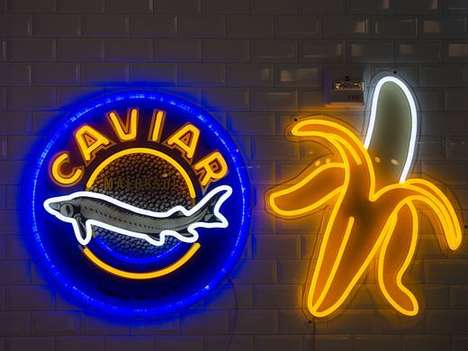 Cafe-Grocery Store Hybrids - Caviar & Bananas Sells Both Gourmet and Everyday Food