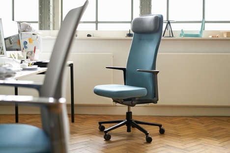 Pared Down Task Chairs - The Pacific Chair Hides All Mechanical Components