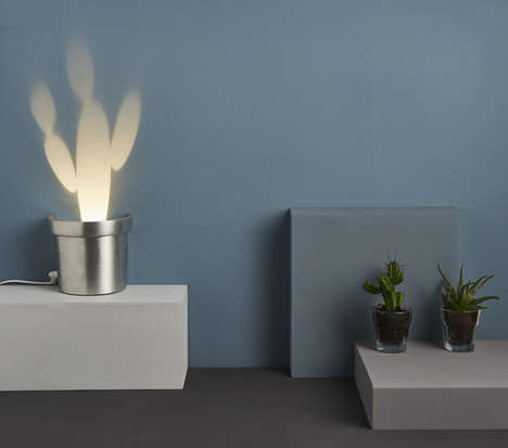 Cactus-Shaped Lighting - These Cactus Lamps Spread a Plant-Inspired Design on the Wall