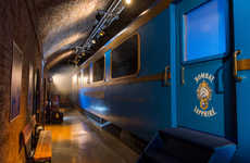 VR Train Tours - The Grand Journey from Bombay Sapphire Takes Guests on a Virtual Tour