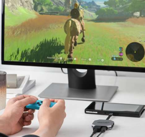 Port-Expanding Console Hubs - The 'Switch-Con' HDMI Hub Works with the Nintendo Switch