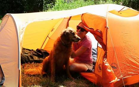 Canine-Friendly Tents - The Big Agnes Copper Hotel HV UL3 Tent Has a Mud Room for Pets