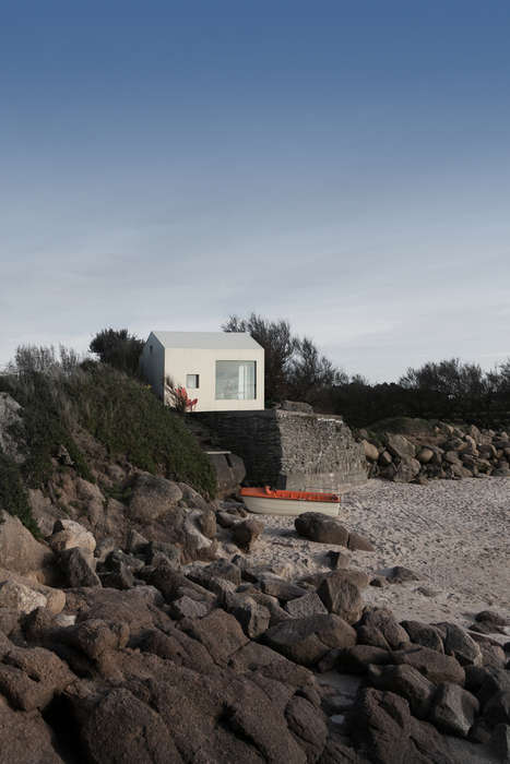 Simple Seaside Shacks - Viking Seaside Summer House is a Micro-Home on the French Coast