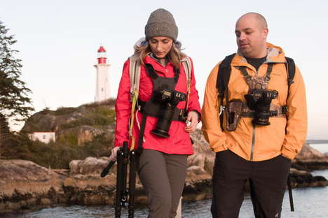 Ergonomic Camera Carriers - Cotton Carrier's G3 Camera Harness is Perfect for Wildlife Photographers