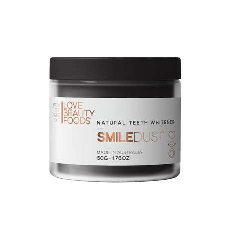 Whitening Tooth Powders - Love Beauty Foods' 'Smile Dust' is Powered by Activated Charcoal and Clay