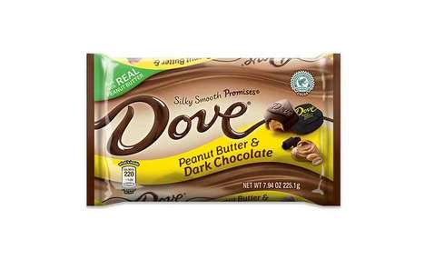 Permissible Chocolate Bar Treats - The DOVE Peanut Butter & Dark Chocolate PROMISES is High-Quality