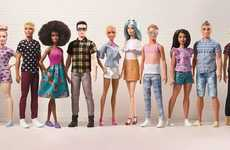 Diverse Male Dolls - Mattel Canada is Launching 15 New Ken Dolls as Part of 'The New Crew'