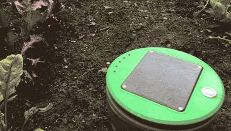 Solar-Powered Automated Weeders - The Tertill Would Be Useful for Avid Gardeners with Limited Time