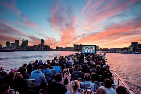 Sunset Cruise Screenings - Time Out Floating Cinema Series Shows Classic Films on the River Thames