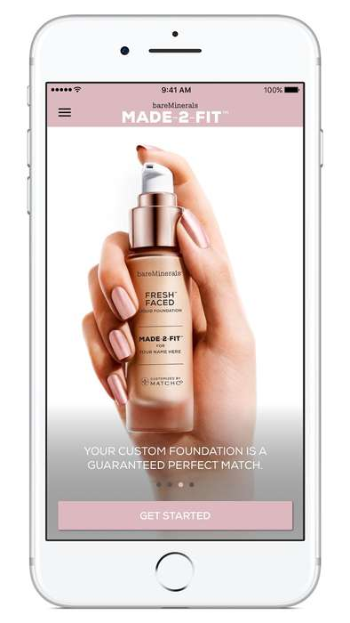 Foundation Matchmaking Apps - bareMinerals Created a Useful App That Takes Out Some of the Guesswork