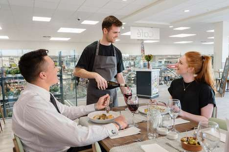 Supermarket Dining Concepts - Waitrose's New 'Supper Club' Brings High-End Dining to the Supermarket