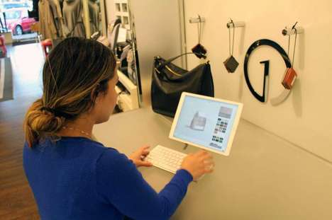 Handbag Customization Kiosks - 1 Atelier's Stations Help Consumers Make the Bag of Their Dreams