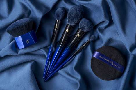 Squirrel-Inspired Makeup Brushes - Real Techniques' PowderBleu Range Boasts FauxBleu Technology