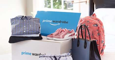 Non-Committal eCommerce Services - Amazon Prime Wardrobe Lets You Order Clothing to Try on at Home