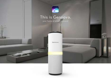 Multi-Service Home Automation Solutions - The 'Gennova' Works with Various Voice Assistants