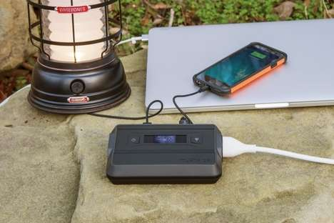 Appliance-Powering Portable Batteries - The MyCharge Adventure Ultra Charging Battery is Compact