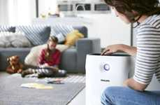 Air Quality-Tracking Purifiers - The Philips Air Purifier 2000i Captures Dust, Gases and More