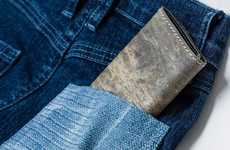 Natural Slate Stone Wallets