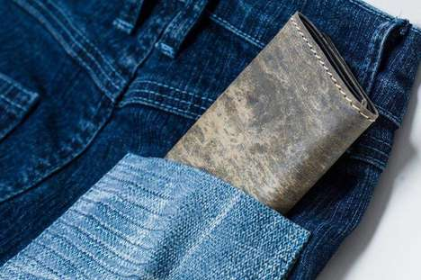 Natural Slate Stone Wallets - The Stone Wallet is Made from Authentic Natural Slate