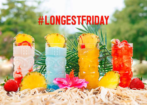 Extended Happy Hour Promotions - TGI Fridays is Marking the Summer Solstice with All-Day Happy Hour