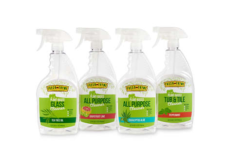 Free-From Household Cleaners - Fresh Thyme's Household Cleaning Products Tout Natural Ingredients