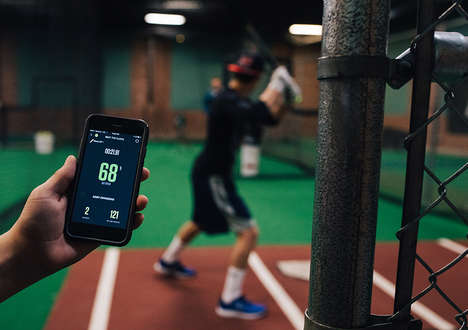 Gamified Batting Practices - New Balance's NB Power Hitter Challenge Gamifies The Zepp Training App