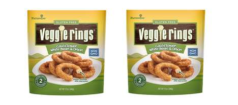 Fiber-Rich Frozen Side Dishes - Veggie Rings are Made with Non-GMO Vegetable Ingredients