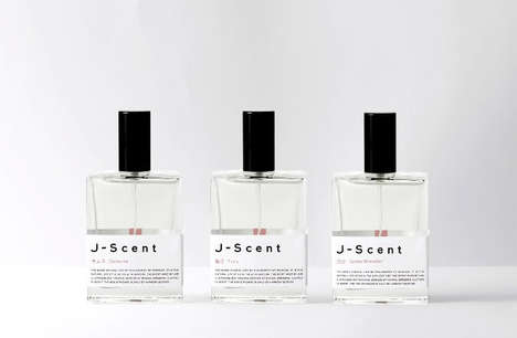 Wrestler-Inspired Fragrances - J-Scent's Unique Perfume Smells of Hair Oil Used by Sumo Wrestlers