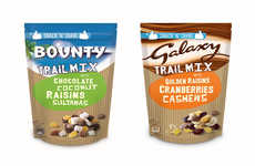 Candy-Infused Trail Mixes