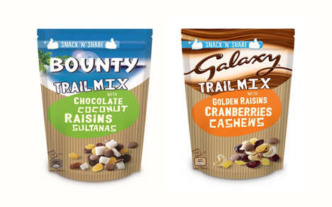 Candy-Infused Trail Mixes - The Mars Fruit and Nut Trail Mixes are Packed with Flavorful Treats