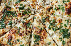 Clam Pizza Recipes - This White Clam Sauce Pizza Recipe Makes a Summery Meal You'll Enjoy All Season
