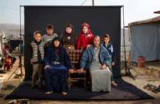 Refugee Camp Family Portraits