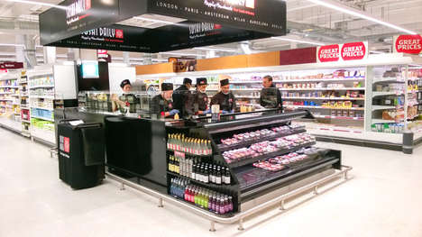 Gourmet Sushi Grocers - Sainsbury's Grocery Store Offers a Grab-and-Go Gourmet Sushi Bar