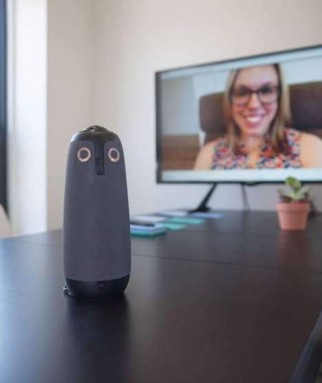 Owlish Meeting Cameras - The Meeting Owl is a 360 Camera for Boardrooms