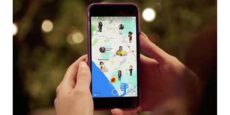 Social Media Location-Sharing Tools - Snapchat's New Snap Map Feature Encourages Social Interaction