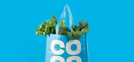 Wholesome Convenience Store Menus - The Co-op Group and MRH Partnership Makes Good Food Accessible