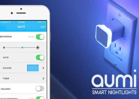 Smartphone Notification Night Lights - The 'Aumi Mini' Smart Light Works in Any USB Port