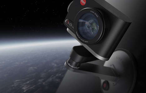 Zero-Gravity Space Cameras - The Leica Space Action Cam Snaps Photos in Spacecrafts