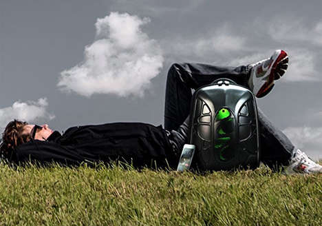 Waterproof Speaker Backpacks - The 'Trakk Shell' Backpack Boasts a Serious Sound System