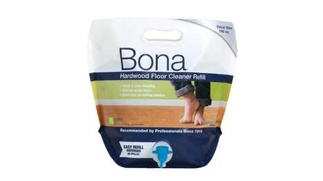 Ready-to-Pour Cleaner Pouches - Bona's Hardwood Floor Cleaner Comes with an Easy-to-Use Dispenser