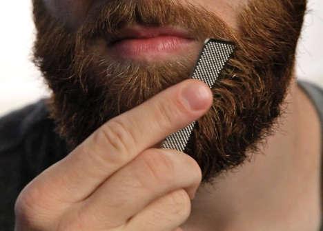 Wallet-Sized Beard Combs