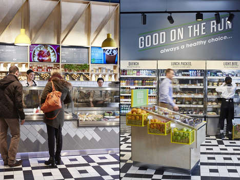 18 Hybrid Grocer Innovations - From High-End Food Halls to Grocery Store Herb Gardens