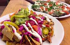 Meatless Vegan Nachos - The Sage Vegan Bistro Serves Flavorful, Fully Loaded Plant-Based Nachos