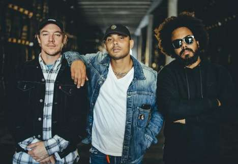 Snapchat-Sourced Music Videos - The Bacardi x Major Lazer Snapchat Lenses Will Invite Fans to Join