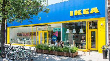 Furniture Brand Pop-Up Shops - Toronto's IKEA Play Café is an Immersive Retail Experience