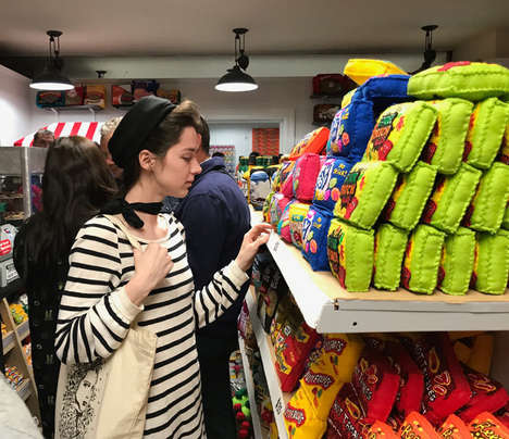 Crafted Artisan Bodegas - '8 'Til Late' is a Convenience Store Filled Entirely with Felt Products