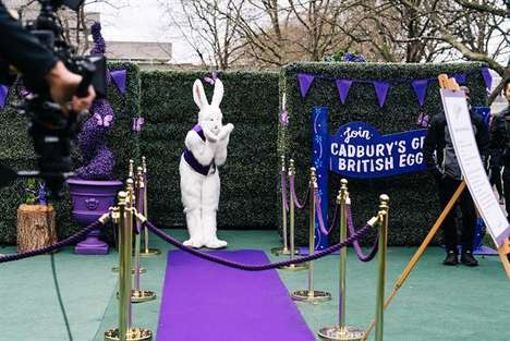 Easter Egg Hunt Activations - The Cadbury Enchanted Maze Was Hosted near the London Eye