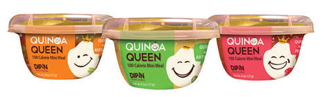"Quinoa Meal Cups - Quinoa Queen Makes Protein-Rich ""100-Calorie Mini Meals"""