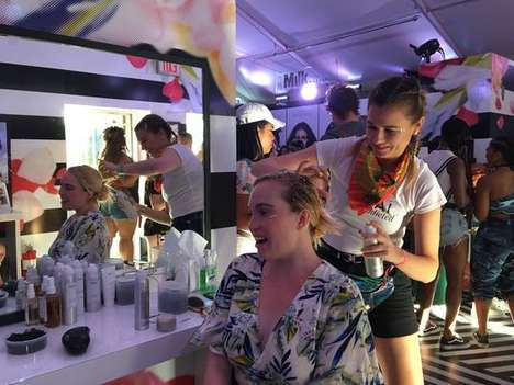 Complimentary Festival Makeovers - The 2017 Sephora Coachella Activation Offered Various Services